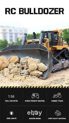 116 Remote Control Truck RC Bulldozer Tractor Machine Radio Controlled Car Toys