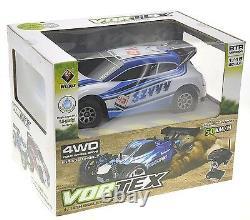 118 RC Rally Car Electric 2.4GHz Radio Remote Control 4WD RTR Blue New