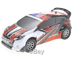 118 RC Rally Car Electric 2.4GHz Radio Remote Control 4WD RTR Red New