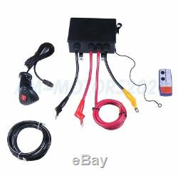 12V Electric Winch 13000LBS Recovery ATV Car Truck Trailer with Wireless Remote
