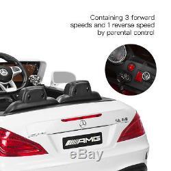 12V Kids Ride On Toy Car Licensed Mercedes-Benz RC Remote Control Radio & MP3