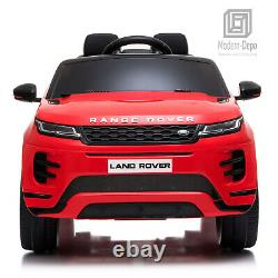 12V Ride On Car with Remote Control, Bluetooth, MP3, Radio, Licensed Range Rover