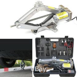 12V Wireless Auto Electric 5 Ton Car Jack Hydraulic Floor Lift Remote Control