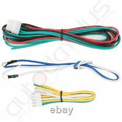 12V Wireless Remote Control Loud Car Horn 400w 8 Sound PA Speaker MIC