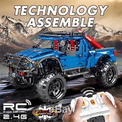 1630pcs Remote Control Off-Road Car Building Blocks Technic RC Bricks Toy Models