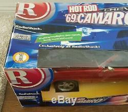 1969 Camaro Hot Rod Magazine Radio Shack 16 scale R/C Remote Controlled Car