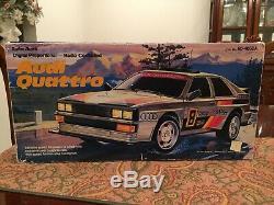 1985 Radio Shack Audi Quattro RC Car Remote Control 60-4058