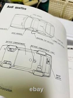 1985 Vintage Radio Shack Audi Quattro RC Car Remote Control 60-4058 NEVER USED