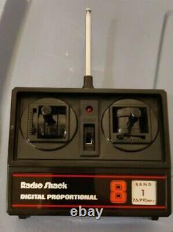 1985 Vintage Radio Shack Audi Quattro RC Car Remote Control 60-4058 Still works