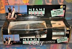 1986 Miami Vice Radio Controlled Sports car remote unused vintage Kiss RC MIB 2f
