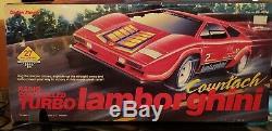 1988 Vintage BRAND NEW radio Shack Remote Controlled Countach Lamborghini RARE