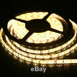 1-20m Waterproof White LED Strip Lights 3528 SMD Flexible light Car Boat DC 12V