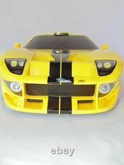 1 Badd Ride 2005 Ford GT Radio Control Car w Remote 18 Race 2ft Yellow RARE HTF