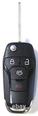2016 16 for Ford Fusion flip key keyless entry remote control car 80 bit 4d63