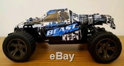 2.4GHZ MONSTER TRUCK BEAST BUGGY 20KM/H RECHARGEABLE Radio Remote Control Car UK