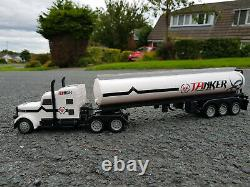 2.4GZ Lorry Truck Oil Tanker Transport Vehicle 46cmL Radio Remote Control Car