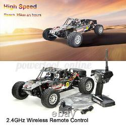 2.4G Off Road Remote Control Radio RC Car Toys Gifts 110 4WD Desert Wild Track