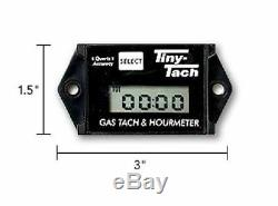 (2) Professional TINY TACH Hour Meter / Tachometer RC Helicopter Heli Plane Car
