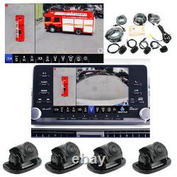 360° Car Wireless Remote Parking Monitor DVR System Rear View Back-up Camera Kit