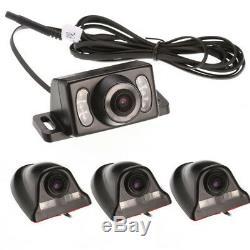 4CH Car DVR AHD SD 4G Wireless GPS Antenna Realtime Video Recorder Remote+Camera