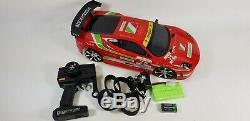 4WD 1/10 Radio Remote Control RC Fast Speed Drift King Car Boys Xmas Toy Play UK