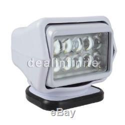 50W LED Remote Control Marine Boat Car Searchlight Wireless Spotlight Magnetic B