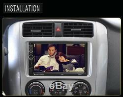 7 2Din Car FM Radio MP5 Player GPS Navigation Bluetooth 16G ROM+Remote Control