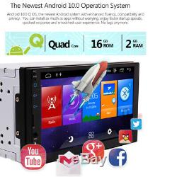 7 2Din Car Stereo GPS Navi MP5 Touch Player WiFi Radio FM AM DAB+Remote control