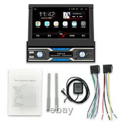 7 Car Radio 1 DIN Android 9.1 GPS Stereo Navi MP5 Player WiFi Remote Control
