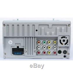 7 Double 2Din Car Stereo CD DVD MP5 Player Radio Bluetooth with Remote Control