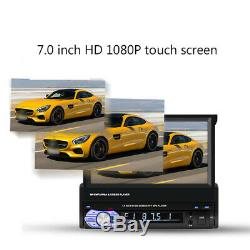 7 Inch Telescopic Screen Bluetooth Stereo FM Radio Car MP5 Player&Remote control