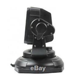 80W LED 360° Searchlight Truck Boat Car Marine Wireless Spotlight Remote Control