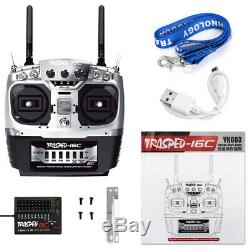8CH Remote Control Transmitter Receiver Radio 2.4G For RC Racing Car Truck Model