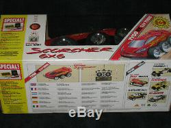 9.6V Scorcher 6x6 Radio Remote Control Car Brand New MIB 1992 Tyco Metro Taiyo