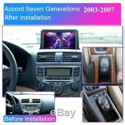 9 inch Android 10.1 Car Stereo Radio GPS with Remote For Honda Accord 2003-2007
