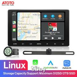 ATOTO 10 in-Dash Car Stereo Video Receiver with Packing Camera/ Remote Controller