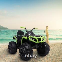 ATV Double Drive Children Ride on Car without Remote Control LED Radio USA STOCK