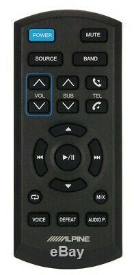 Alpine CDE-HD149BT Car CD/HD Radio Receiver with Advanced Bluetooth+Remote Control