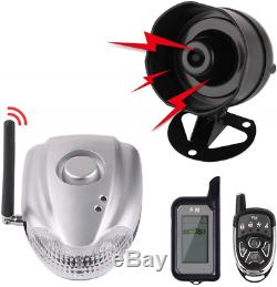 Autopmall Car Alarm Protection System Auto Security 2 Way Remote System Wireless