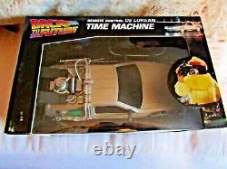 BACK TO THE FUTURE TIME MACHINE wireless car VERY RARE BOX REMOTE time machine