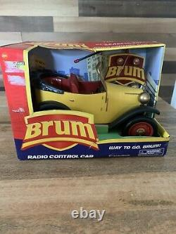 BRUM Remote Control Car Yellow Roadster with Remote Radio Shack New In Box