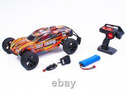 BSD Racing Prime Storm RC Truggy 1/10 Scale Radio Remote Control Car Orange
