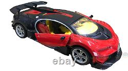 BUGATTI VEYRON Radio Remote Control Car LED Lights 1/14 Rechargeable Boxed