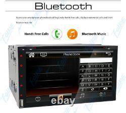 Backup Camera+7 Car Stereo Radio CD DVD Player Bluetooth SD USB Remote Control