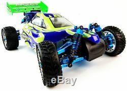 Backwash Pro Nitro Radio Remote Control Controlled Buggy RC Car RTR