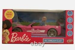 Barbie Full Function Convertible Dream Car With 2.4ghz Radio Remote Control, Gift
