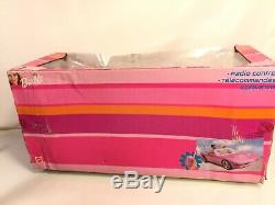 Barbie Hot Pink GM Corvette Mattel Doll Car Radio Remote Control Vehicle NEW