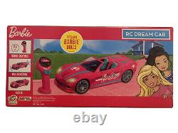 Barbie RC Full Function Convertible Dream Car with 2.4ghz Radio Remote Control