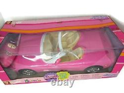 Barbie Radio Control Car Pink CORVETTE 2001 NEW in Sealed Box Remote Controlled