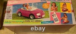 Barbie Volkswagen Beetle Convertible Purple R/C Remote Radio Control Car NEW